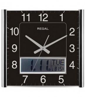 REGAL 0069 SB Regal Dijital Takvimli Dereceli Analog Duvar Saati