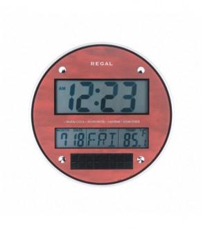 REGAL 0215 R Dijital Gunes Enerjili Duvar Saati