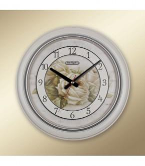 REGAL 0262 i2 Regal Yuvarlak Klasik cicekli Duvar Saati