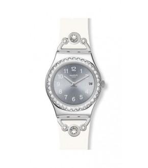 Swatch YLS463 PRETTY IN WHITE