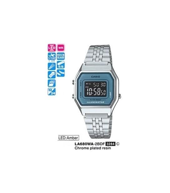 Casio LA680WA-2BDF - CAS-LA680WA2BDF