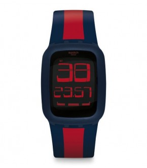 Swatch SURN101D SWATCH TOUCH DARK BLUE RED