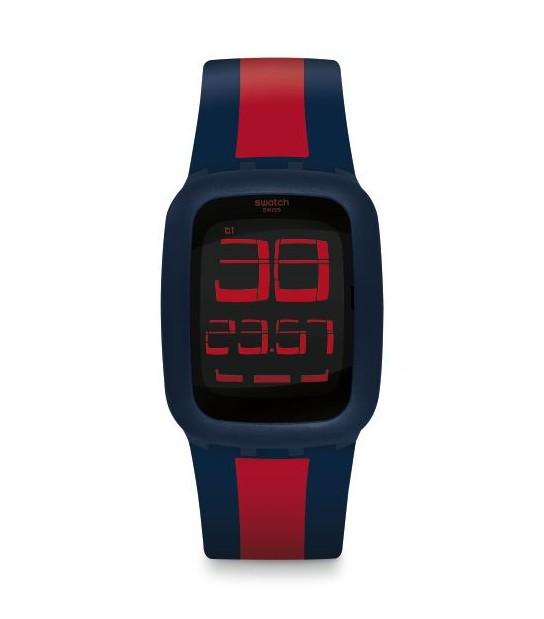 Swatch SURN101D SWATCH TOUCH DARK BLUE & RED