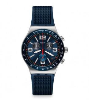 Swatch YVS454 BLUE GRID