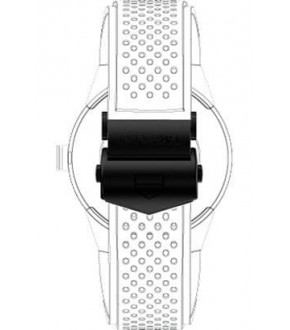 Tag Heuer Connected FC5081 Buckle Siyah Titanyum Toka