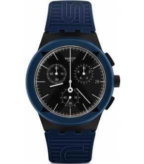 Swatch SUSB418 X District Blue