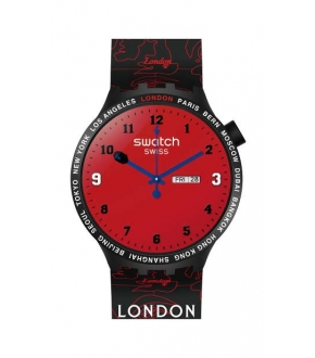 Swatch SO27Z701S BIG BOLD BAPE LONDON EDITION