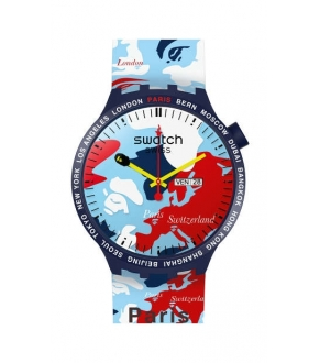 Swatch SO27Z703S BIG BOLD BAPE PARIS EDITION