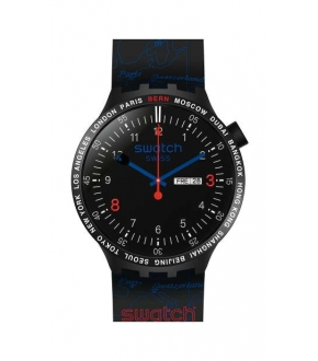 Swatch SO27Z704S BIG BOLD BAPE SWISS EDITION