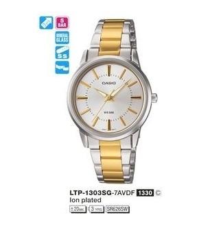 Casio LTP-1303SG-7AVDF - CAS-LTP1303SG7AVDF