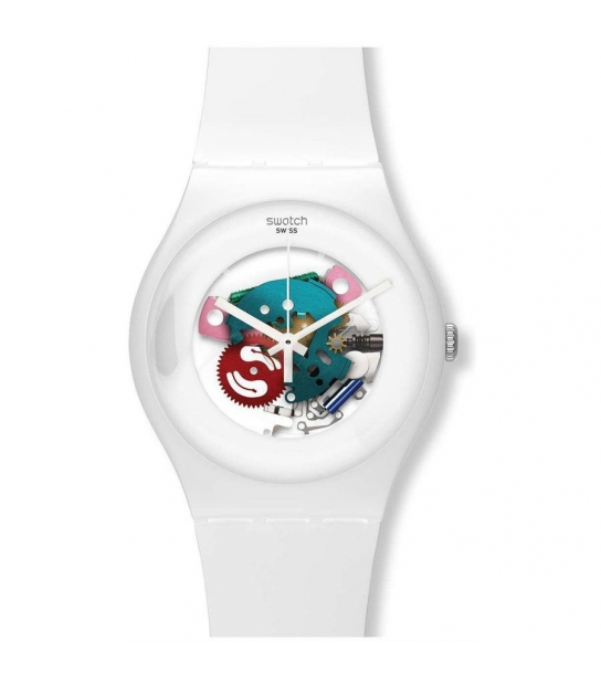 Swatch SUOW100 WHITE LACQUERED