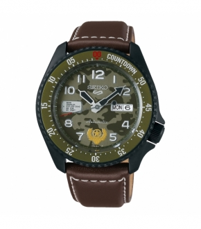 Seiko 5 SRPF21K1 - STREET FIGHTER Guile