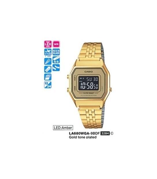 Casio LA680WGA-9BDF - CAS-LA680WGA9BDF