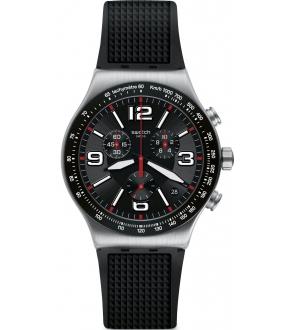 Swatch Very Dark Grid Erkek Kol Saati YVS461