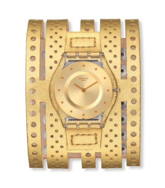 Недорогие белые часы swatch