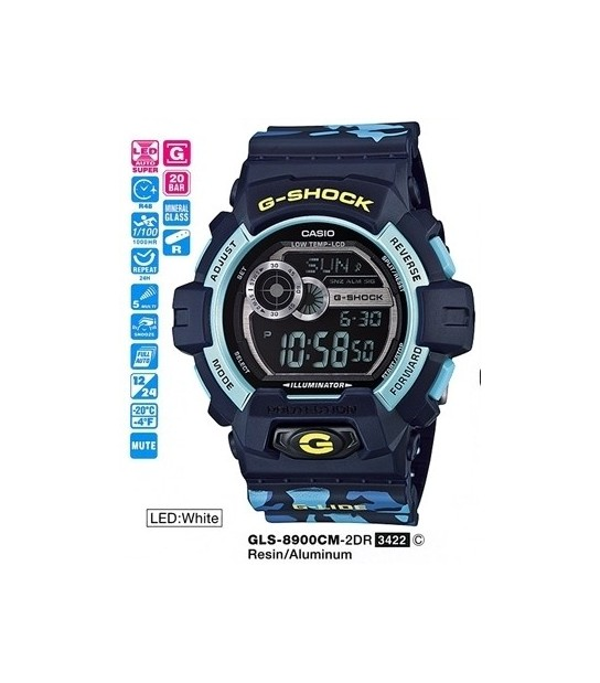 Casio GLS8900CM2DR