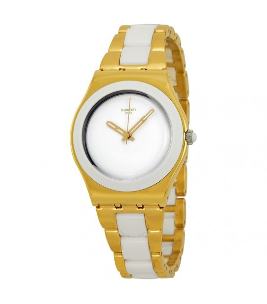 Swatch YLG122G YELLOW PEARL